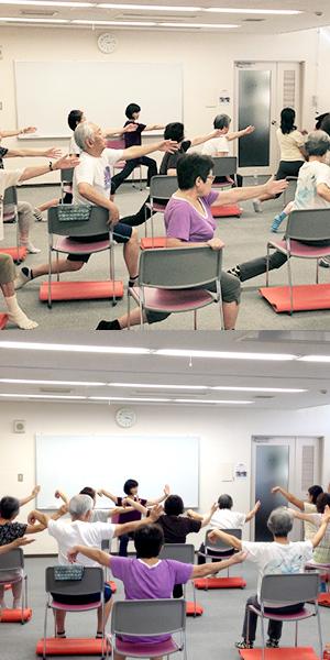 椅子de太極拳体操