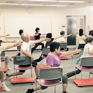 健サポ式 椅子de太極拳体操講習